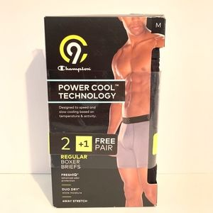 NWT C9 by Champion Power Cool Regular Boxer Briefs